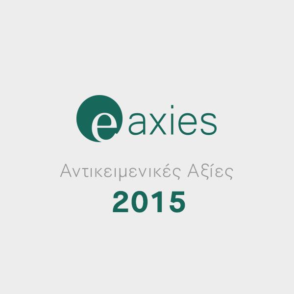 Δυνατότητα υπολογισμού αντικειμενικών αξιών με Συντελεστές που ίσχυαν το έτος 2015